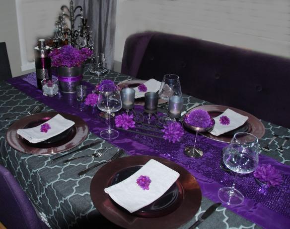 Mauve et gris un parfait mariage de couleurs for Decoration mauve et gris