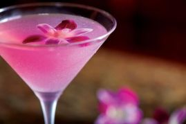 Radiant Orchid Hawaiian Martini