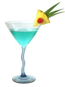 Aquamarine Martini